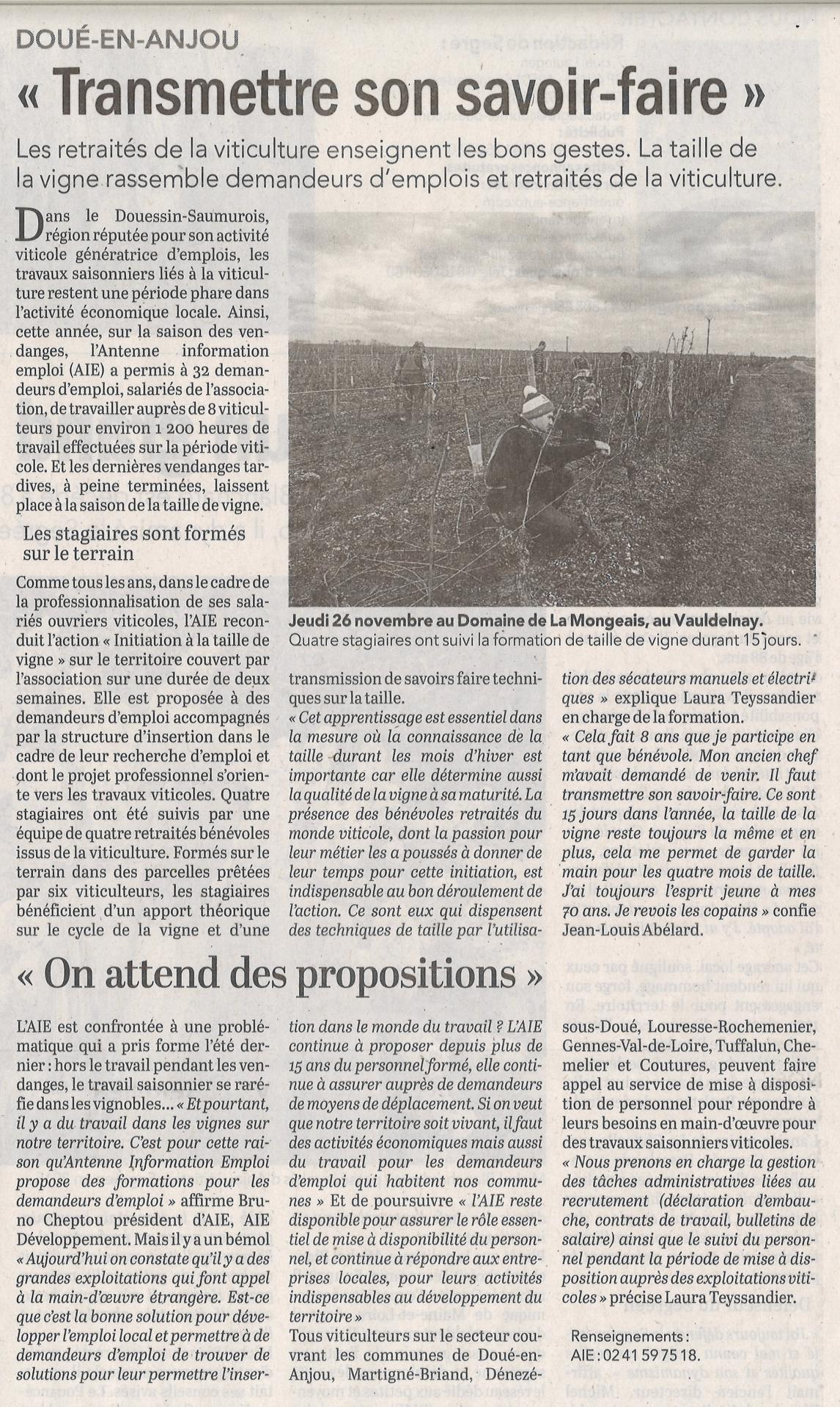 Article initiation taille de vigne 1