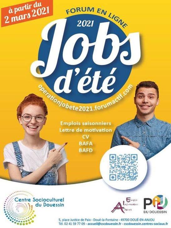 Jobs d ete 2021