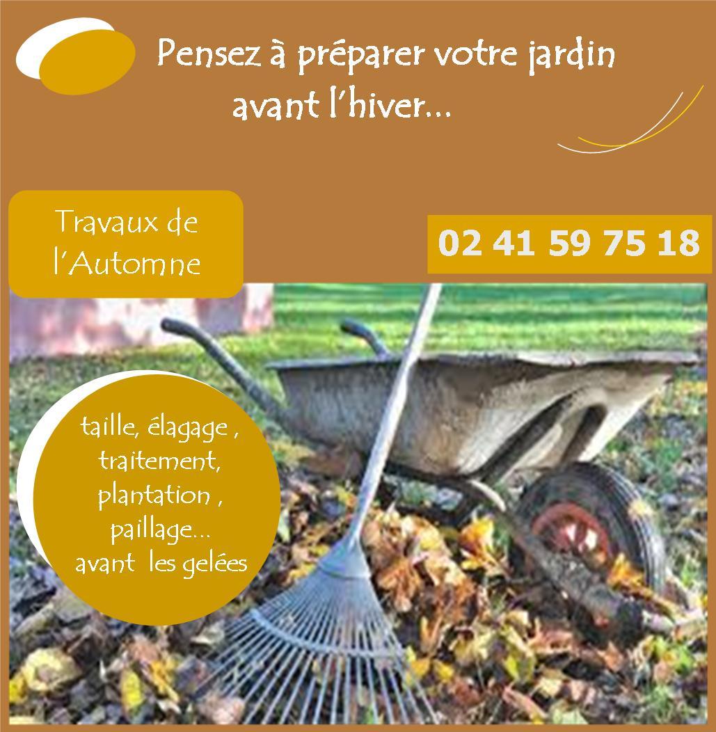Preparez votre jardin a l automne