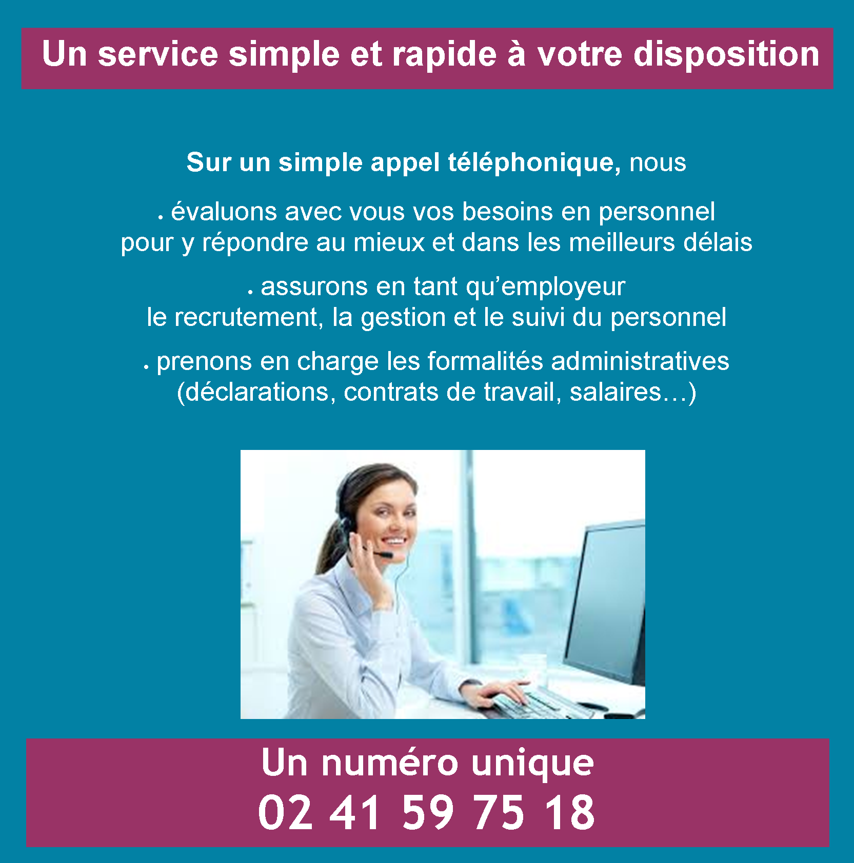 Service mad particuliers