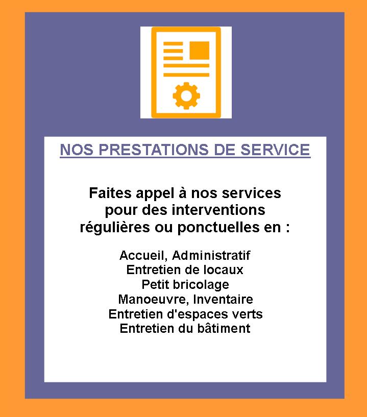 Site prestation association