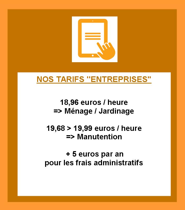 Site tarifs entreprises 1