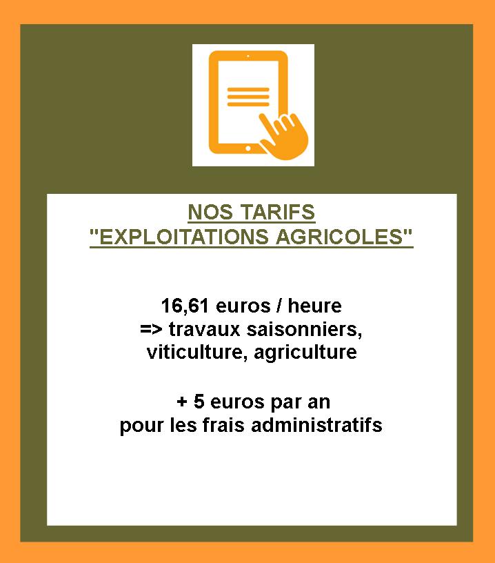 Site tarifs exploitations
